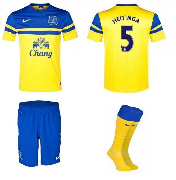 Seconda maglia Everton 2013-2014 Nike