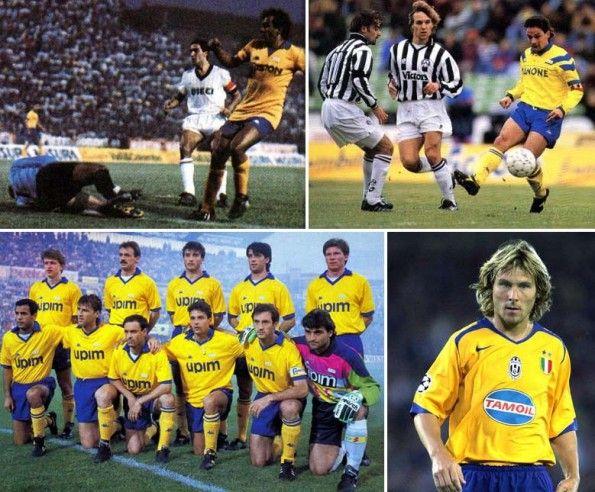 Maglie gialloblù Juventus