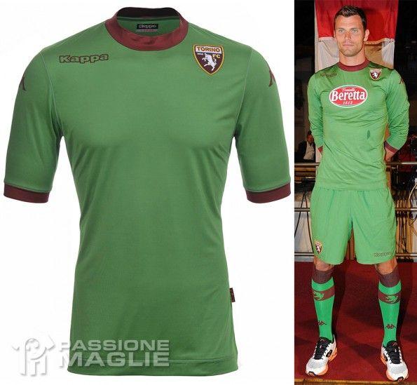 Divisa portiere Torino 2013-2014 verde