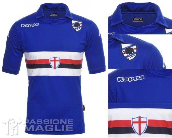 Maglia Sampdoria 2013-2014 Kappa