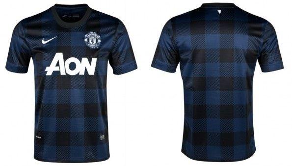 Seconda maglia Manchester United 2013-2014 Nike