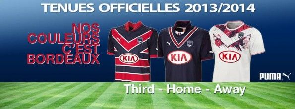 Kit Bordeaux 2013-2014 Puma