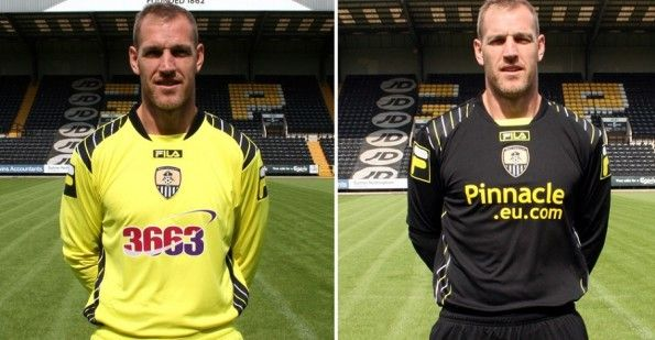 Maglie portiere Notts County 2013-14