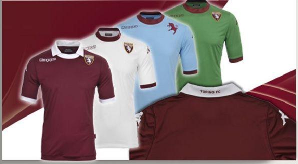 Maglie Kappa per il Torino 2013-14