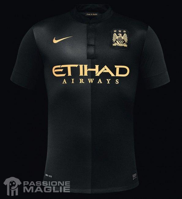 Seconda maglia Manchester City 2013-2014