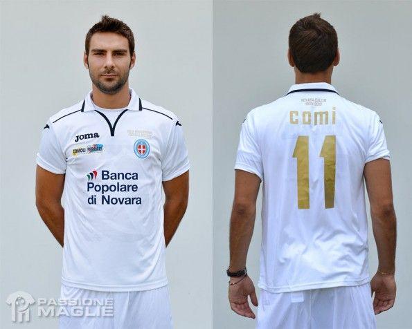 Seconda maglia Novara 2013-2014