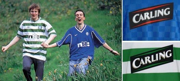 Ntl e Carling, sponsor Celtic e Rangers 1999-2001