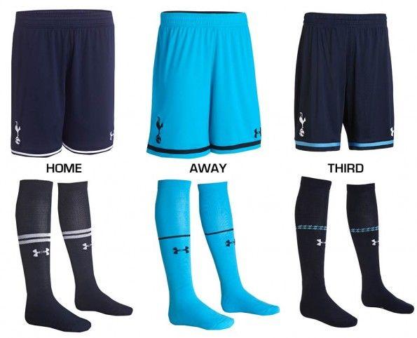 Pantaloncini calzettoni Tottenham 2013-2014