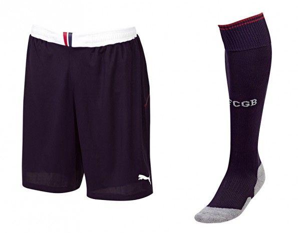 Pantaloncini calzettoni Girondins Bordeaux 2013-14