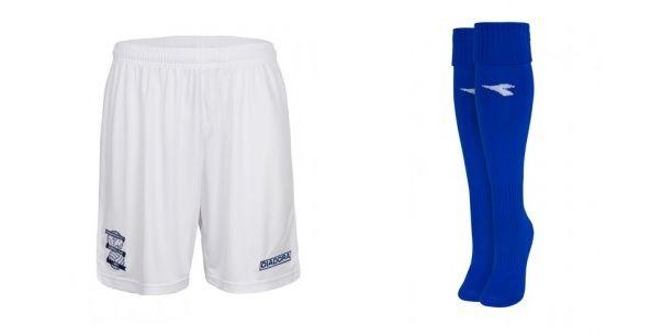 Pantaloncini calzettoni Birmingham City 2013-2014