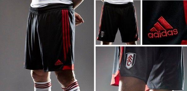Pantaloncini Fulham neri 2013-2014