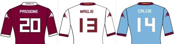 Nome numeri font Torino 2013-2014