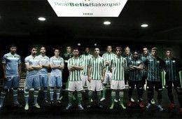 Presentazione kit Betis 2013-14