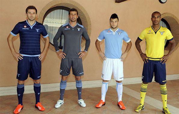 Presentazione divise Lazio 2013-2014