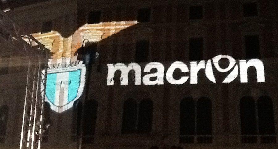 Evento Macron presentazione maglie Lazio