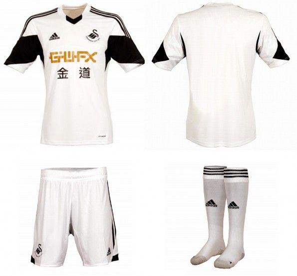 Maglia Swansea City 2013-2014 Adidas