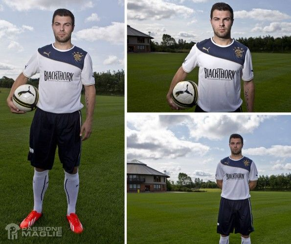 Seconda maglia Rangers 2013-2014