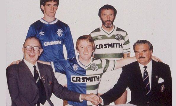 CR Smith sponsor di Rangers e Celtic nel 1984