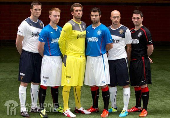 Kit Rangers 2013-2014 Puma