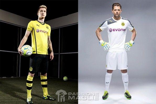 Reus Weidenfeller kit BVB Puma 2013-2014