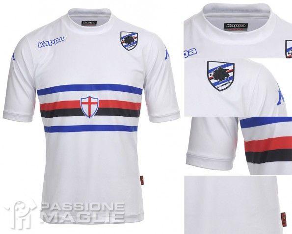 Seconda maglia Sampdoria 2013-2014