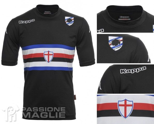 Terza maglia Sampdoria 2013-2014