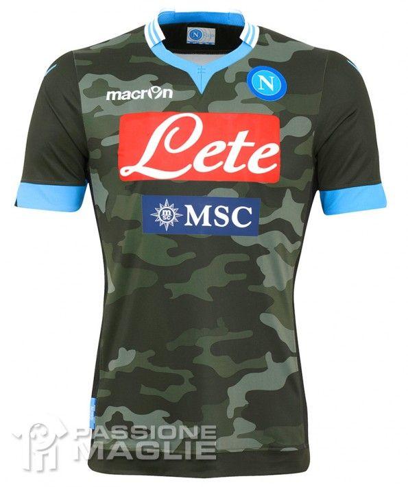 Seconda maglia Napoli 2013-2014