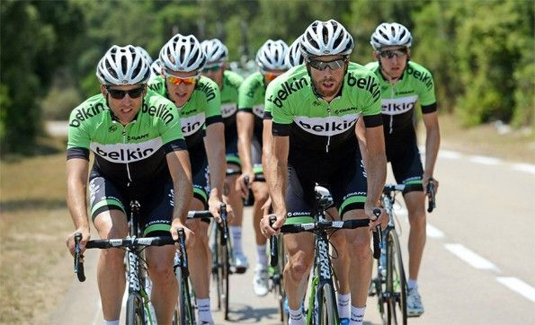 Team Belkin ciclismo in strada