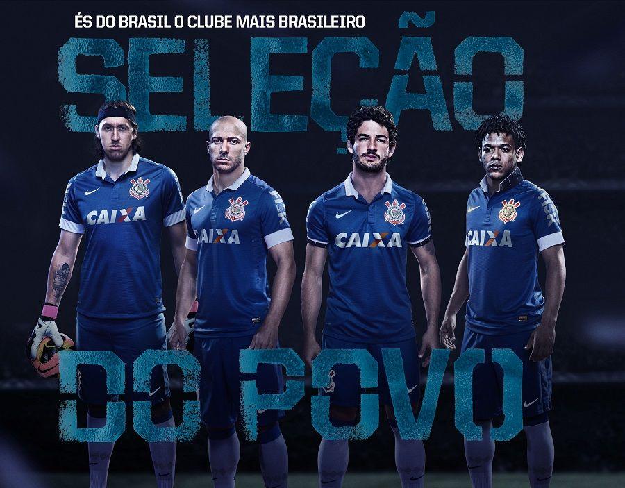 Terza divisa Corinthians 2013 Nike