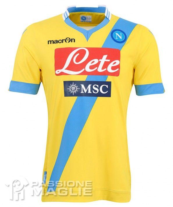 Terza maglia Napoli 2013-2014