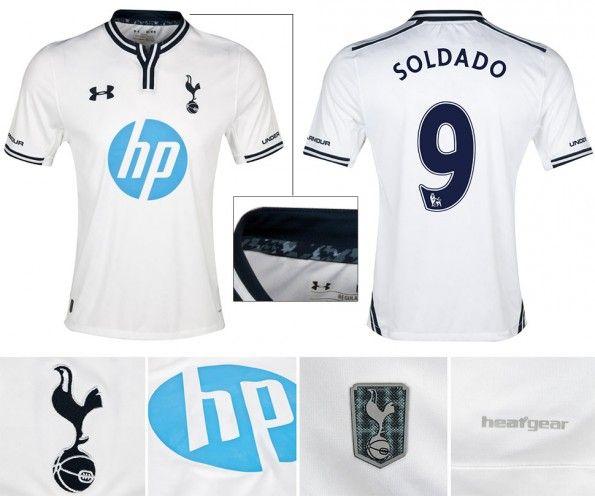 Maglia Tottenham 2013-2014 home