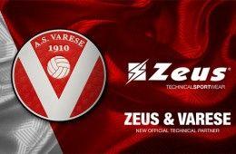 Zeus sponsor tecnico Varese