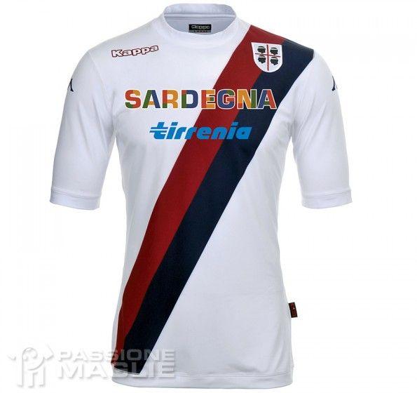 Seconda maglia Cagliari 2013-2014