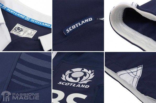 Dettagli Scotland kit Macron 2013-14