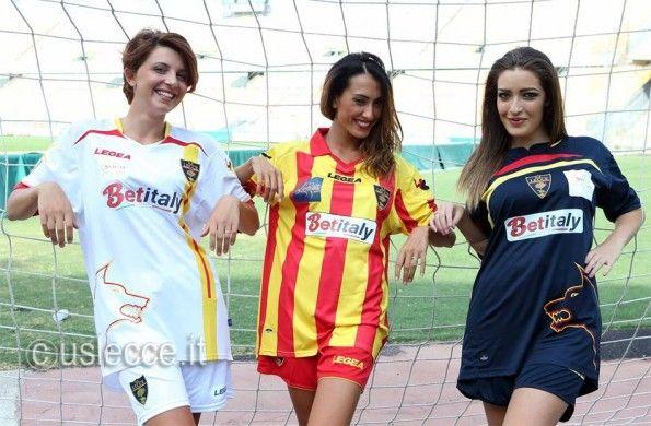 Divise Lecce ufficiali 2013-2014