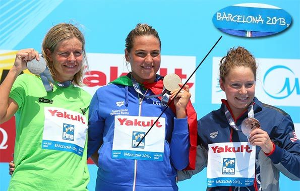 Martina Grimaldi oro Barcellona 2013