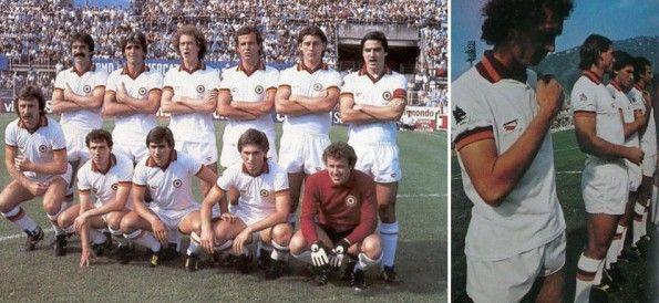 Seconda maglia Roma 1980