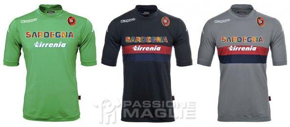 Maglie portiere Cagliari 2013-2014