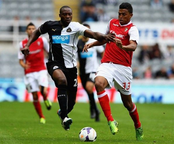 Newcastle Sporting Braga amichevole