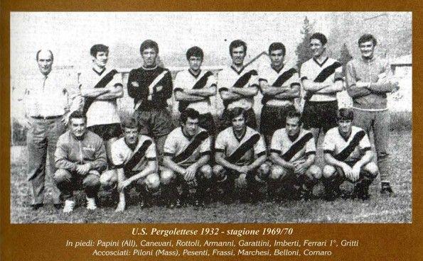 Pergolettese stagione 1969-1970