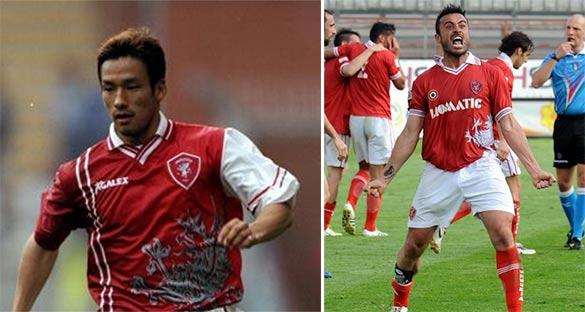 Hide Nakata Perugia 1988-99