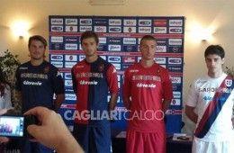 Presentazione maglie Cagliari