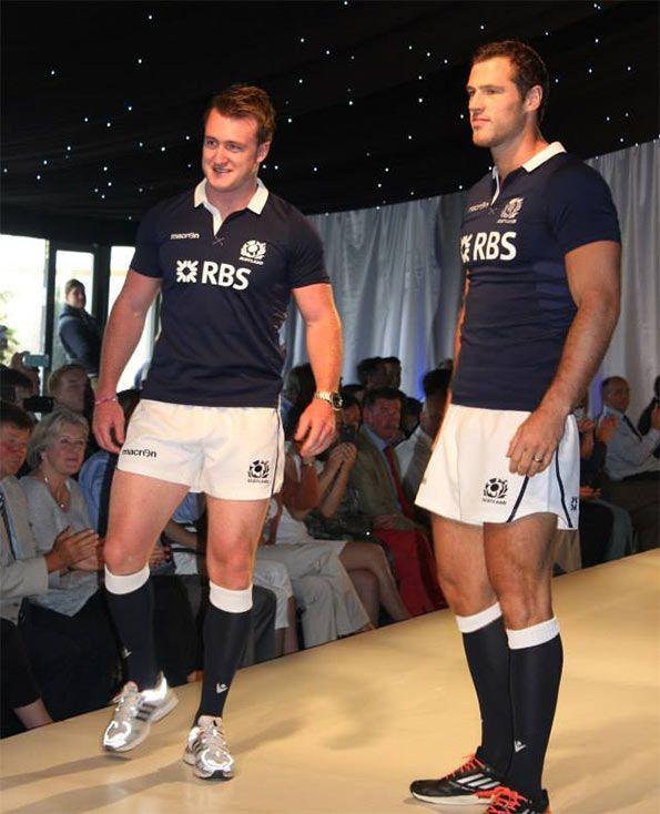 Presentazione kit Scozia rugby Macron 2013-14