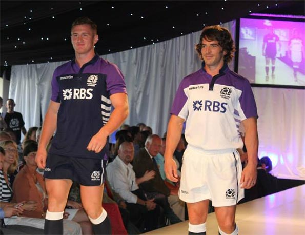 Kit Scotland rugby 7 Macron