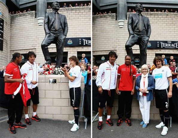 Statua Bobby Robson a Newcastle