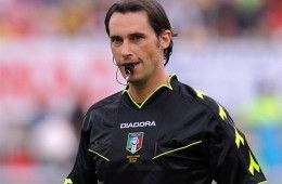 L'arbitro Andrea Gervasoni
