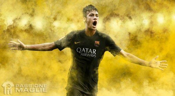 Neymar terza maglia Barcellona 2013-14