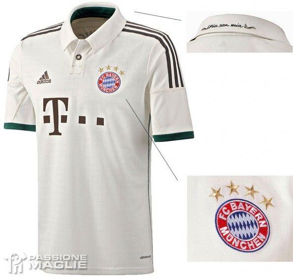 Seconda maglia Bayern Monaco 2013-2014