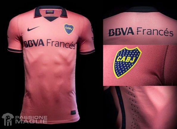 Seconda maglia Boca Juniors 2013-14 Nike