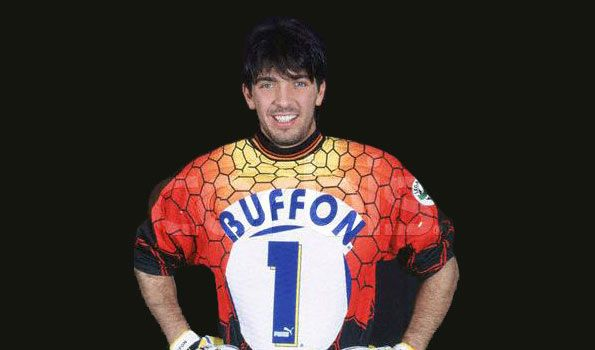 Gianluigi Buffon maglia Parma 1997-98
